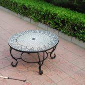 firepit tableblomsterbord